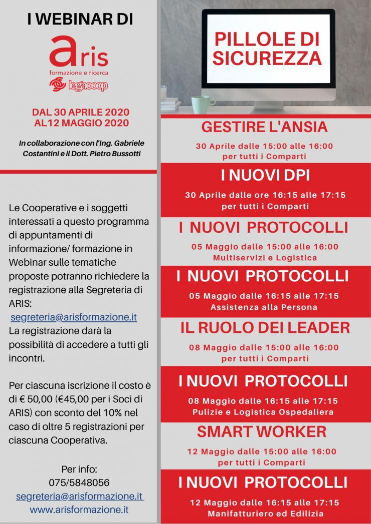 webinar Pillole di sicurezza
